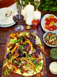 Festive Dinner Party Menu - have a very veggie christmas jamie oliver features