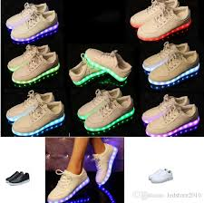light up shoes that change colors led luminous shoes men women fashion sneakers usb charging