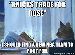 Derrick Rose Jersey Meme - derrick rose trade memes knickerblogger net