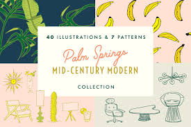 mid century modern photos graphics fonts themes templates
