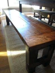 Rustic Farmhouse Dining Table With Bench Farmhouse Table With Benches U2013 Amarillobrewing Co