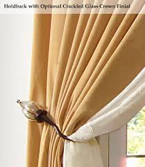 How To Use Curtain Tie Backs 120 Best Curtain Holdbacks Images On Pinterest Curtains Curtain