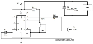 how to control speed of dc motor using pwm and 555 timer circuit