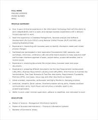 Manual Testing Fresher Resume Samples by 11 Fresher Resume Samples Free U0026 Premium Templates