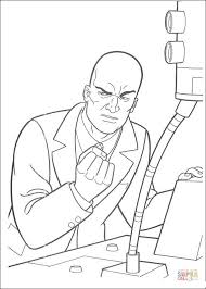 lex luthor coloring free printable coloring pages