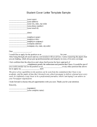 bunch ideas of cover letter for university student sample with