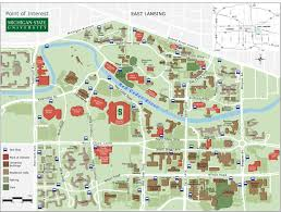 Iit Campus Map Awesome Msu Campus Map Cashin60seconds Info