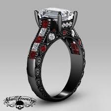 amethyst rings poe images Ladies badass skull rings american owned jpg