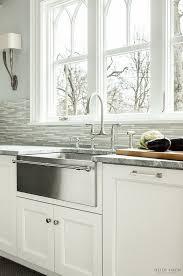 country kitchen sink ideas stainless steel farmhouse kitchen sinks sinksamusing apron