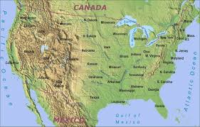 The Map Of United States Of America by Map Usa Rivers And Mountains Map Images Shaded Relief Map Of Us