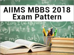 paper pattern of aiims aiims mbbs 2018 exam pattern check aiims mbbs marking scheme