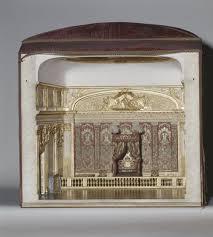 chambre de louis xiv maquette de la chambre du roi louis xiv à versailles exécutée vers