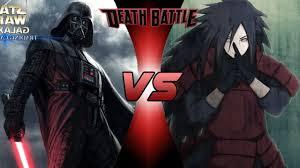 vs madara darth vader vs madara uchiha battle fanon wiki fandom