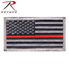 Us Flag Facts Rothco Thin Red Line Us Flag Patch