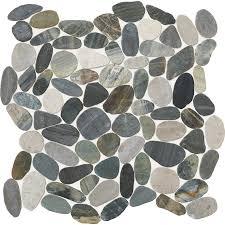 shop american olean delfino stone paradise blend pebble mosaic