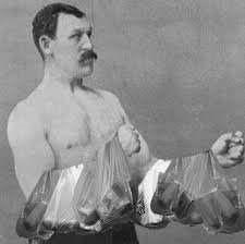 Manly Man Meme - overly manly man shopping