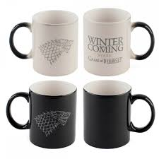 Color Changing Mugs by Game Of Thrones Winter Is Coming Heat Sensitive Mug Hbo Shop