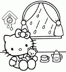 free printable baby kitty coloring pages kids picture 17