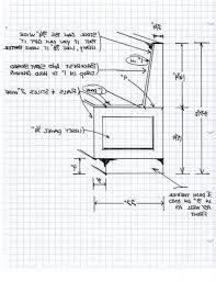 kitchen bench standard dimensions bench decoration