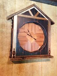 Wood Clock Designs by Copperhead Creek Studio Hampshire Tn Handcrafted Art U0026 Home Decor