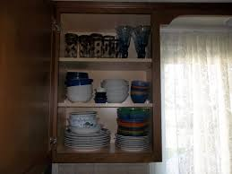 organize kitchen cabinets how we got rid of 99 dishes ybkitchen
