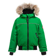 goose green u0027grizzly bomber u0027 down padded jacket childrensalon