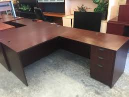 Glass L Desk by Smoked Glass L Desk B U0026l Office Furniture New Used Office Furniture