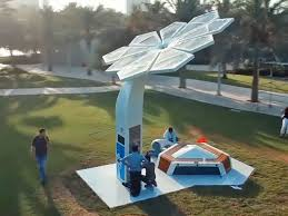 Wisconsin is it safe to travel to dubai images Smart palm quot trees in dubai charge your phone and provide free wi jpg