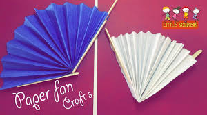 how to make a paper fan how to make a paper hand fan chinese fan paper origami diy crafts