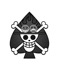 One Piece Flags Black And White Spade Pirates By Kigamonsta On Deviantart