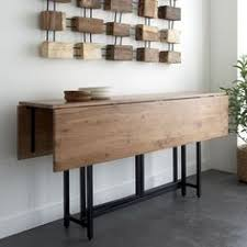 console turns into dining table fold out dining table dining table