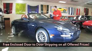 blue maserati 4 door 2005 maserati spyder cambiocorsa for sale with test drive driving