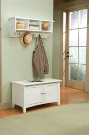 Coat Rack With Bench Seat Alaterre Shaker Cottage Storage Bench And Coat Hook With Storage