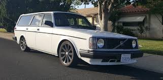daily turismo thorsday restomod 1975 volvo 245 turbo wagon