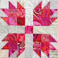 wendy u0027s quilts and more scrappy bear paw quilt with kaffe fassett