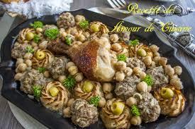 cuisine chou tajine de chou fleur et boulettes de viande hachée amour de cuisine