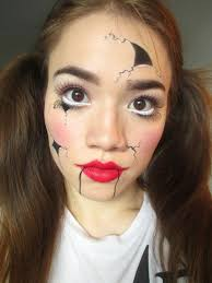 Doll Halloween Makeup Ideas by Belle Amiki Easy Last Minute Halloween Makeup Ideas