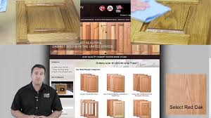 how to stain unfinished oak cabinets how to stain and lacquer unfinished cabinet doors with great results