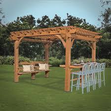Pergola Swings Interior Design Wondrous Wooden Arbor With Pergola Roof Design