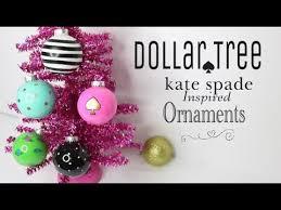 dollar tree diy kate spade ornaments