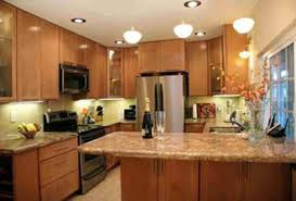 l shaped kitchens with islands astounding brown wooden cabinets and brown wooden l shaped kitchen