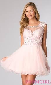 light pink graduation dresses cap sleeve short beaded homecoming dress promgirl