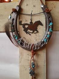 personalized horseshoes best 25 horseshoe decorations ideas on shoes