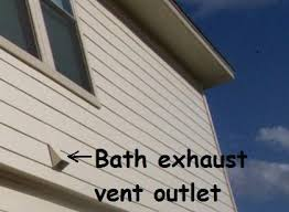 venting exhaust fan through roof bathroom exhaust vent gorgeous ideas home ideas