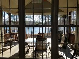 grilling porch beautiful lake front home has it all pont vrbo