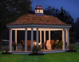 Gazebo Designs  Ideas Wood Vinyl Octagon Rectangle And - Gazebo designs for backyards