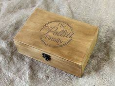 Personalized Wooden Boxes Personalized Wooden Box Laser Engraved With Your Name And