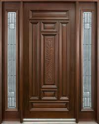Floor Transition Ideas Door Design Luxury Big Mahogany Dark Front Door Design Idea