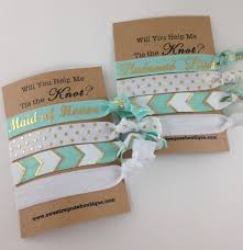 The Knot Favors by Will You Help Me Tie The Knot Bridesmaids Gifts Will You Be My