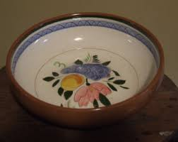 stangl pottery fruit and flowers trenton nj made etsy